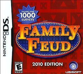 Family Feud -- 2010 Edition (Nintendo DS, 2009)