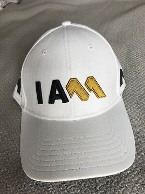 Rare - TaylorMade Tour Issue ~ I AM ~ Adjustable Golf Hat Cap M1 M2 ~ White