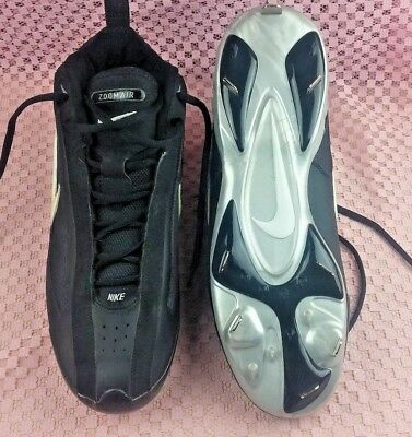 Nike Zoom Air DRI-FIT Baseball Cleats Shoes Size US 12 311798-011 black #S88