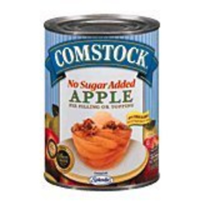 Comstock Apple Pie Filling/Topping No Sugar Added 20 oz (1 Can)