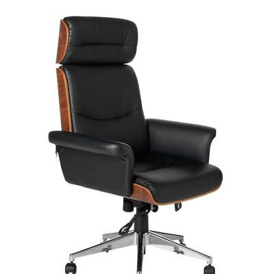New Heart of House Stamford Extra Large Wood Panel Office Chair Executive Swivel