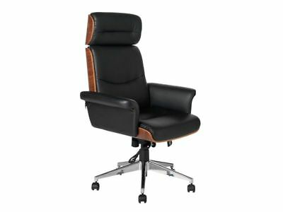 Heart of House Stamford Extra Large Wood Panel Office Chair Executive New Swivel