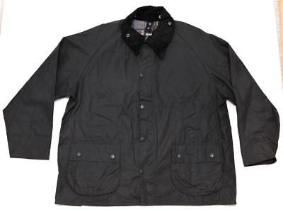 Barbour Bedale Men's Oiled Waxed Cotton Jacket Coat Large 48 Grey England