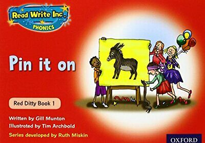 Read Write Inc. Phonics: Red Ditty Book 10 In the Mud by Munton, Gill Paperback