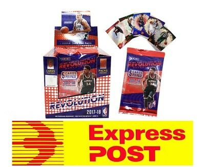 2017 2018 NBA Panini Revolution Sealed Box Basketball Cards Chinese New Year Red