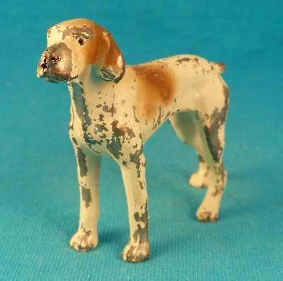 German shorthair English pointer hunting dog old vintage metal NO reserve