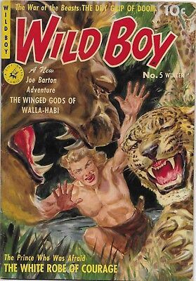 Wild Boy, Vol 1, No.5, Winter, 1951,   ZIFF - DAVIS Publishing Company