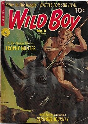 Wild Boy Vol 2, No.6, Spring, 1952,  ZIFF - DAVIS Publishing Company