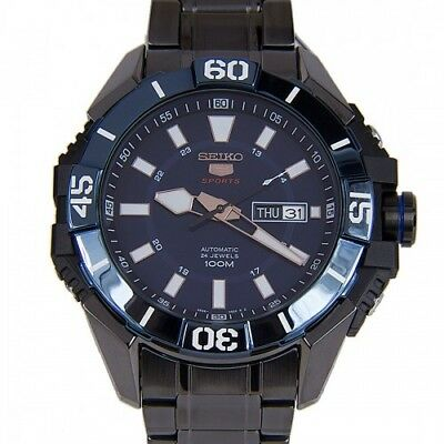 SEIKO SPORTS SRP797K1 AUTOMATIC Seiko men's watch ION PLATED STAINLESS STEEL