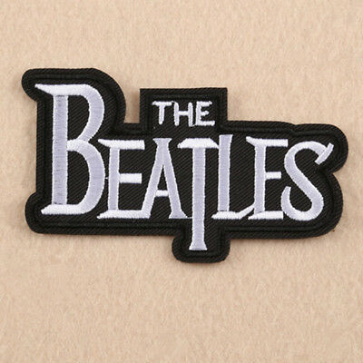 Embroidery The Beatles Sew Iron On Patch Badges Bag Cap Jeans Fabric Applique