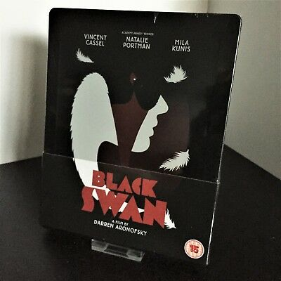 Black Swan Steelbook Blu-Ray Embossed Zavvi UK Exclusive OOP Brand New & Sealed!