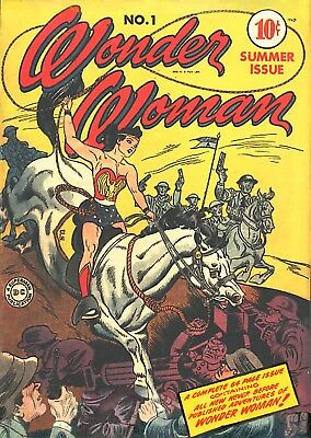 Wonder Woman #1 (1942) Photocopy Comic Book  - Dc Comics