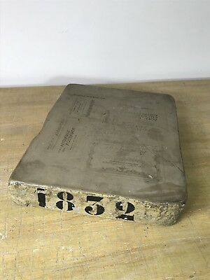 Antique Lithograph Stone / Printing Stone