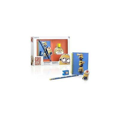 Minion Coffret Eau De Toilette 30 Ml + Ensemble De Papeterie