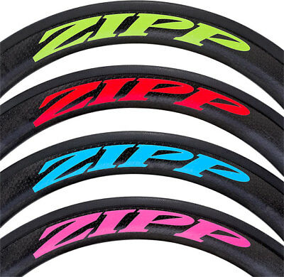 Zipp Decal Set 404 Matte Red Logo Complete for One Wheel