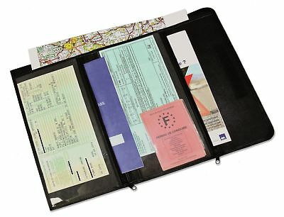 Car Documents Wallet - Leather - Interhome