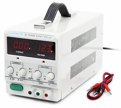 Lavolta Variable Linear DC Bench Power Supply 0 - 30V 0 - 5A - Regulated Adju...