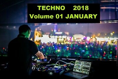 Techno 2018 Volume 01 JANUARY Pack - DOWNLOAD Today - 320kps MP3 DJ Music