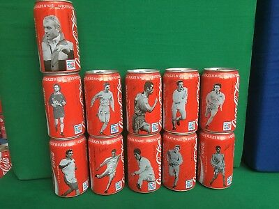 Coca Cola Dosen Set - Équipe Belgique - Coke Cans WM USA 1994 Coupe du monde