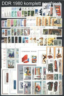 East-Germany / DDR / GDR Complete  Yearset 1980-1984 MNH Stamps, Mi. 2478-2919