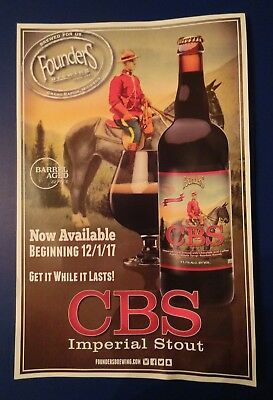 Canadian Breakfast Stout Poster by Founders Brewing