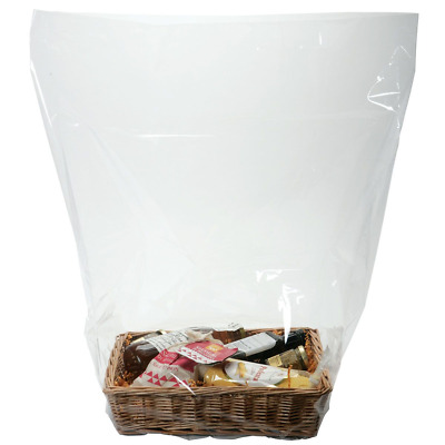 Clear Shrink Wrap Bags - Heat Seal Bags - Gift Wrapping - Hamper Box Packaging