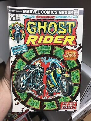 Ghost Rider #7! In VF Condition! RARE! LOOK! WOW!