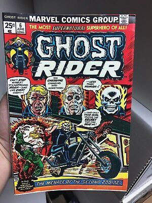 Ghost Rider #6! In VF Condition! RARE! LOOK! WOW!