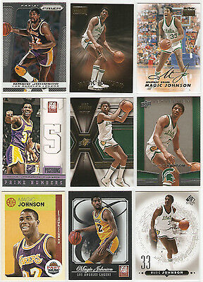 Magic Johnson 9 Karten LOT1 $$$