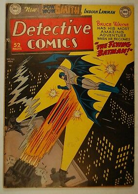 "Detective Comics #153 (Nov 1949, DC) ""The Flying Batman!"""
