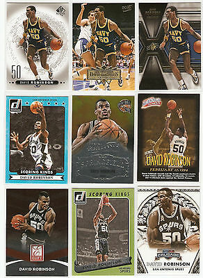 David Robinson 9 Karten -LOT-0001