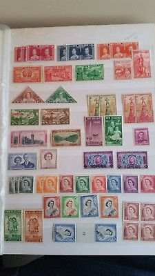 New Zealand mint Stamp collection in album 1920-1998 MNH-MH including officials