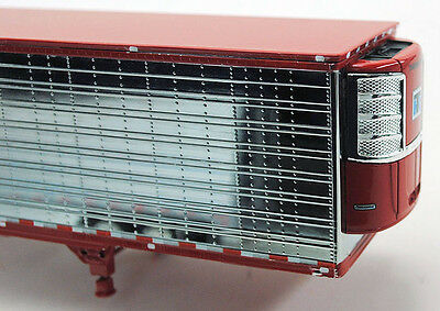 New Chrome & Red Thermoking Reefer Dcp 1/64 53'