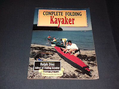 "Faltboot Buch Ralph Diaz ""Complete Folding Kayaker"" Klepper Pouch Folbot Aerius"