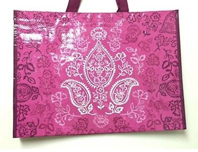 NWT Vera Bradley Market Tote in Stamped Paisley Reusable Shopper Bag Ships Free