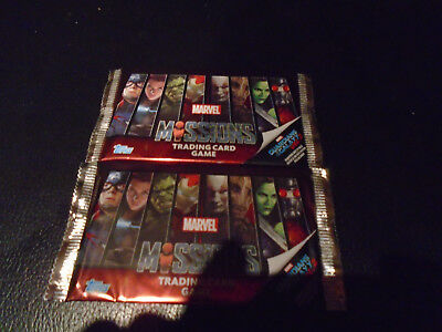Trading Card Marvel Missions