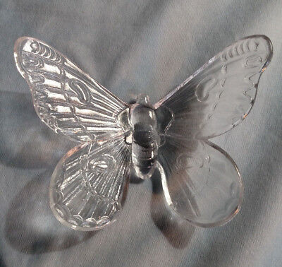 Westmoreland Crystal Large Butterfly Figurine