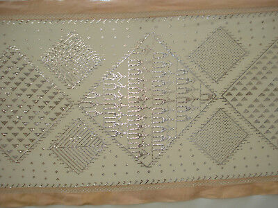 antique french  Art Deco Jeanne Lanvin Assuit shawl / linnen  table cloth