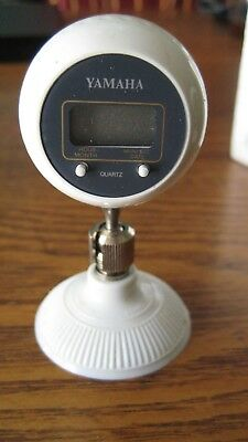 Vintage Quartz Small Golf Ball Suction Cup Clock MCM Space Age Mid Century table
