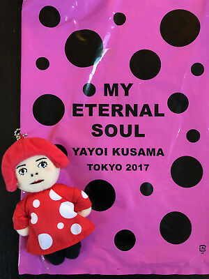 NEW! Limited edition 'My Eternal Soul' exhibition Yayoi Kusama Doll + NEW bag!!