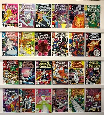 Silver Surfer Vol 3  Lot of 144 UNREAD comics VFNM  #'s  see below for issue #'s