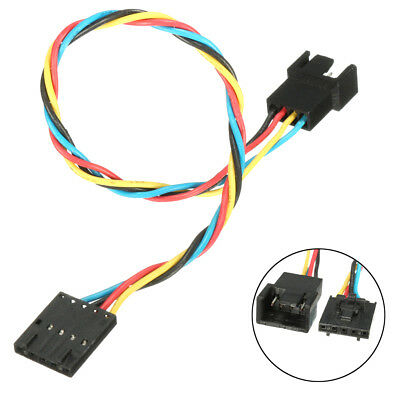 1PC 5 pin to 4 pin Fan Connector Adapter Convertion Extension Cable For Dell Pro