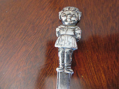 Estate Sale - 60s Campbell Kid Collection Youth Soup Spoon Girl - Int'l Silver