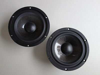 2 x Adam Audio TA65WFAS4-A01,  4Ohm High-End Mitteltöner, Tieftöner Sandwich