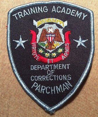 MS Mississippi Department of Corrections Training Academy Patch