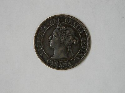 Canada/Great Britain Coin - 1898 Large One Cent - Victoria