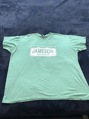 Adult XL Size Jameson Irish Whiskey Est 1780 Colorado Rapids Soccer Club T-Shirt