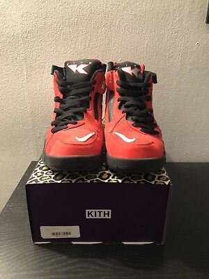 """timeless design 9db0d 71a4a Kith X Nike Scottie Pippen Air Maestro II High """"Red"""" size 10"""