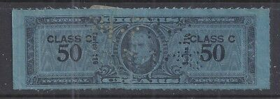 USA • Series 116 Class c • Tobacco Revenue Stamp for Cigars • w/tear