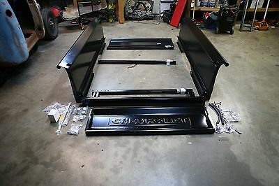 Complete BED KIT Chevy 1937 - 1938 Chevrolet Short Bed Stepside Truck Wood